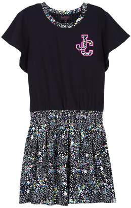 Juicy Couture Galaxy Print T-Shirt Dress for Girls