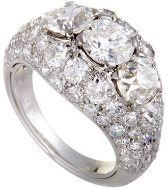 Cartier Heritage  Platinum 4.64 Ct. Tw. Diamond Ring