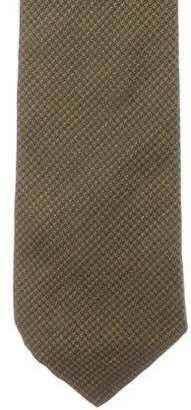 Fendi Silk Jacquard Tie