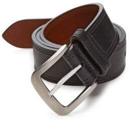 Shinola Double Stitch Belt