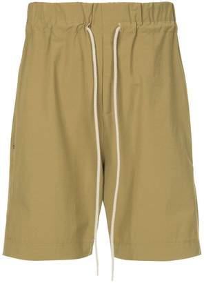 Bassike elasticated waist shorts