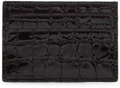 Alexander McQueen Alexander McQueen Textured Leather Card Holder