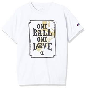 Champion (チャンピオン) - [チャンピオン] キッズ プラクティスTシャツ バスケットボール ホワイト 日本 130 (日本サイズ130 相当)