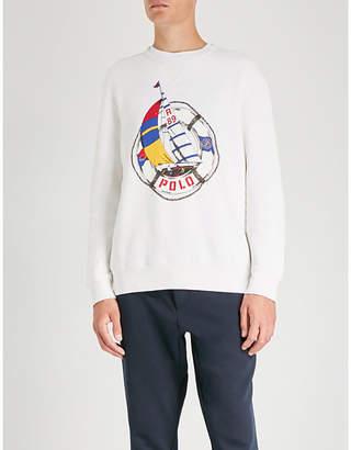 Polo Ralph Lauren Logo-print cotton-jersey jumper