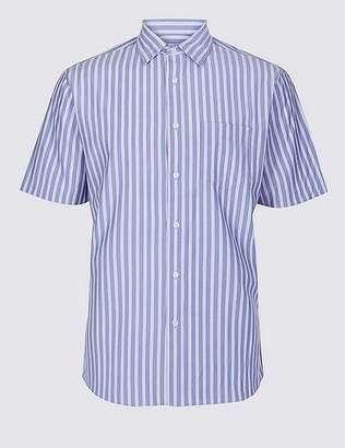 Marks and Spencer Modal Blend Striped Shirt