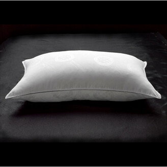 Down Supply Allergy Free Extra Filled White Goose Down Side/Back Sleeper Pillow