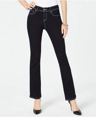 INC International Concepts I.n.c. Contrast-Stitch Skinny Jeans, Created for Macy's