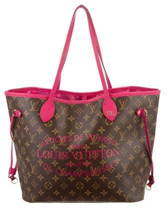 Louis Vuitton Monogram Ikat Neverfull MM
