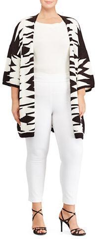 Lauren Ralph LaurenLauren Ralph Lauren Plus Cotton-Blend Skinny-Fit Pants