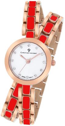 Christian Van Sant Women's Spiral Watch
