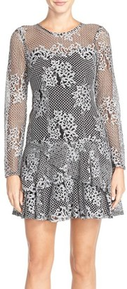 Women's Kut From The Kloth Lace Drop Waist Dress $138 thestylecure.com