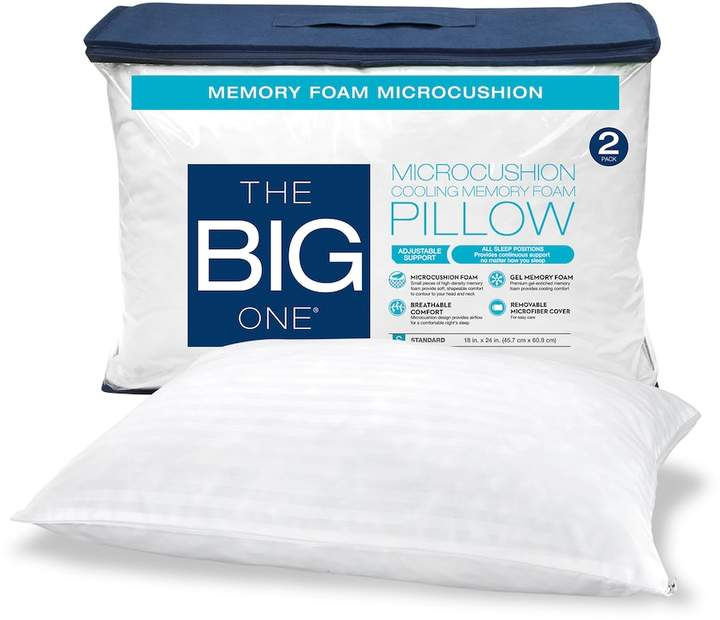 The Big One 2-pack Memory Foam Pillow