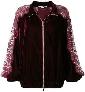 Stella McCartney lace panel track jacket