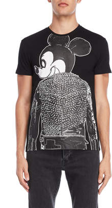 X-Ray X Ray Black Biker Mouse Tee
