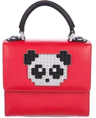 Les Petits Joueurs Mini Alex Metal Panda Bag