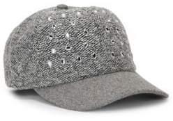 San Diego Hat Company Boucle Beweled Baseball Cap