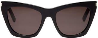 Saint Laurent Black Kate Sunglasses