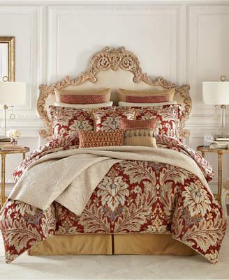 Croscill Arden 4 Piece California King Comforter Set Bedding