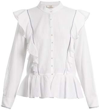 Sea Vienna Cotton Voile Blouse - Womens - White