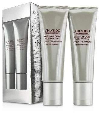 Shiseido NEW The Hair Care Adenovital Scalp Treatment (Thinning Hair) 2x130g