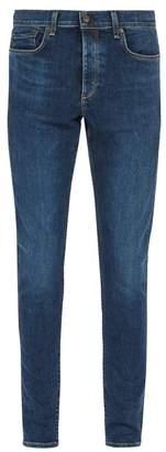 Rag & Bone Fit 1 Slim Leg Jeans - Mens - Blue