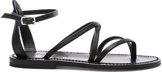 K. Jacques Leather Epicure Sandals