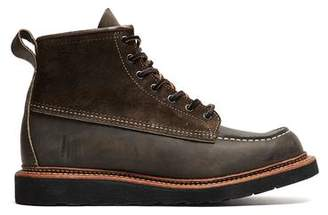 Red Wing Shoes Shoes Exclusive X Todd Snyder Moc Toe Boot in Charcoal