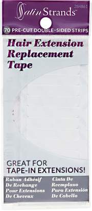 Satin Strands Hair Extension Replacement Tape Strips