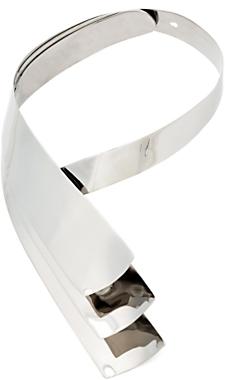 Alexis Bittar Metal Wrap Choker: Silver
