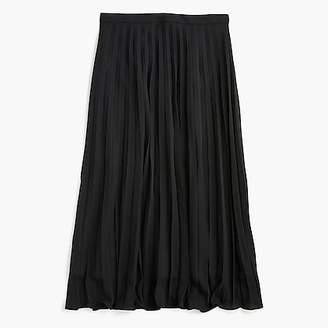 J.Crew Petite pleated midi skirt