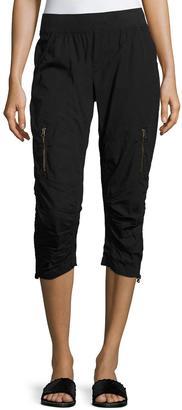 XCVI Dorris Zip-Pocket Crop Pants $115 thestylecure.com
