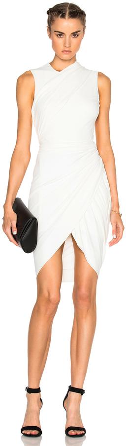 Alexander WangAlexander Wang Asymmetric Drape Dress