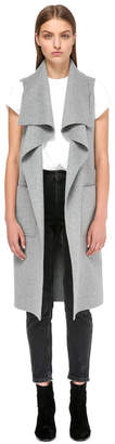 Mackage TIFFANY SLEEVELESS WATERFALL WOOL VEST