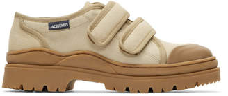 Jacquemus Beige Les Chaussures Gadjo Sneakers