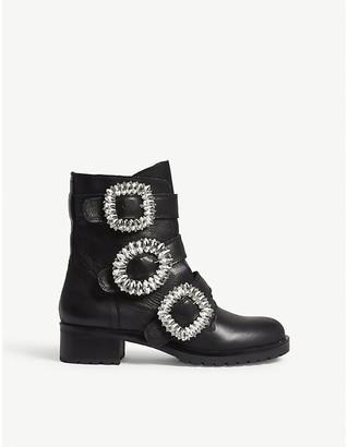 Aldo Dwoiviel leather ankle boots