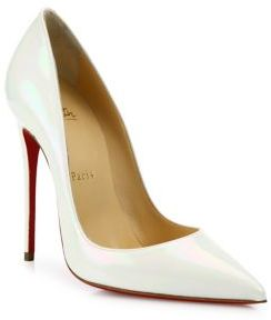 Christian Louboutin So Kate Patent Leather Pumps $695 thestylecure.com