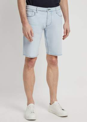 Emporio Armani 12Oz Right-Hand Comfort Denim Shorts