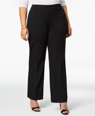 Charter Club Plus Size High-Waist Pants