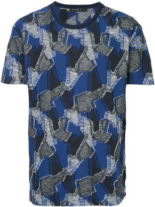 Roar patterned T-shirt
