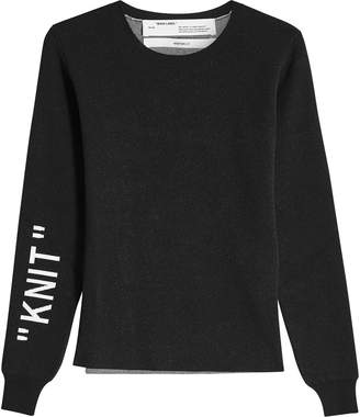 Off-White Off White Knit Pullover