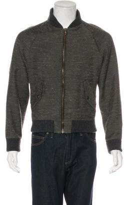 Billy Reid Wool-Blend Bomber Jacket
