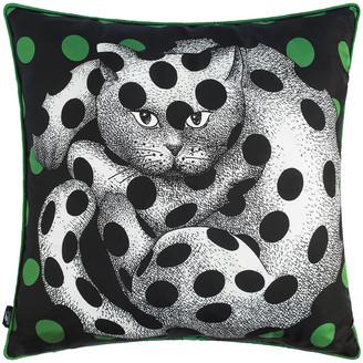 Fornasetti High Fidelity Silk Cushion - 45x45cm