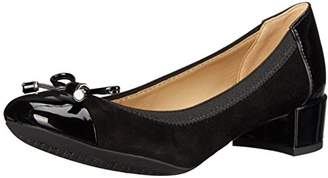 Geox Women's Carey14 Dress Pump, Black, 41 BR/10.5 M US
