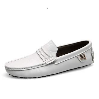ee65ad722e1 Meet- fashion Summer Spring Breathable Genuine Leather Flats Loafers Men  Casual Shoes Slip On Driving