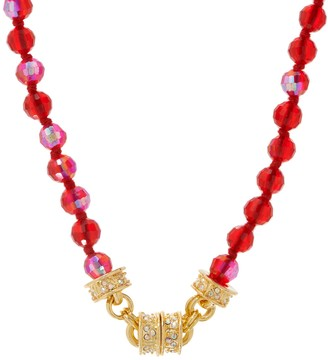 Kirks Folly Beaded Magnetic Necklace