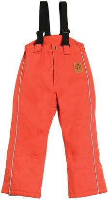 Mini Rodini MICE WATERPROOF NYLON CANVAS SKI PANTS