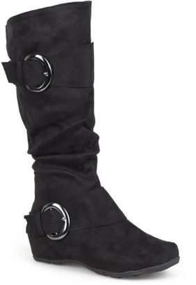 Co Brinley Women's Buckle Knee-High Microsuede Slouch Boot