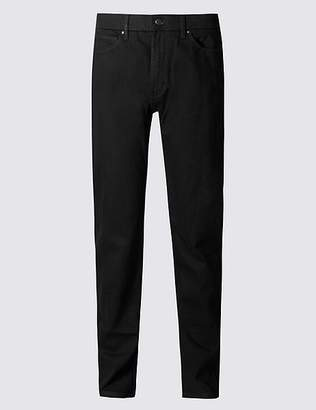 Marks and Spencer Tapered Fit Stretch Jeans with StormwearTM