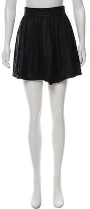 Veda Pleated Mini Skirt