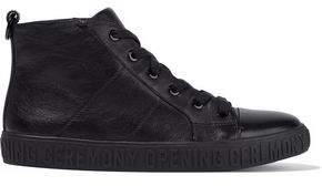 Opening Ceremony Leather High-top Sneakers